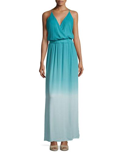Nala Sleeveless Ombre Maxi Dress