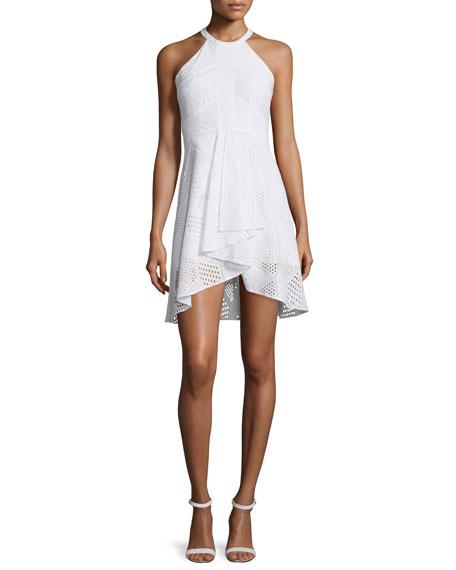Amanda UprichardVineyard Sleeveless Ruffle-Front Dress, Cotton
