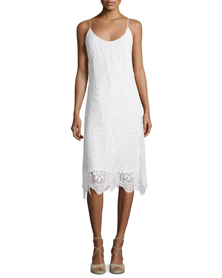 Trina Turk Sleeveless Lace Midi Dress