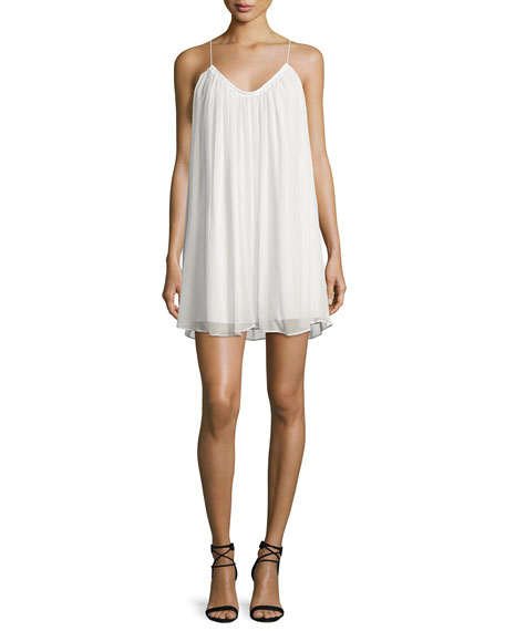 Elizabeth and James Malie Sleeveless A-Line Dress, Ivory