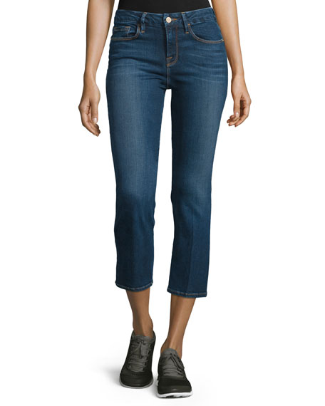 Le Cropped Mini Boot-Cut Jeans, Remsen