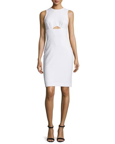 Sleeveless Cutout Sheath Dress