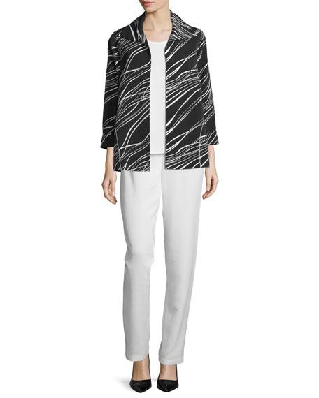 Caroline Rose Good Vibrations Jacket, Plus Size