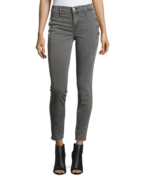 J Brand Jeans Zion Mid-Rise Skinny Ankle Jeans