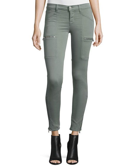 J Brand Kassidy Skinny Ankle Jeans, Greenfield
