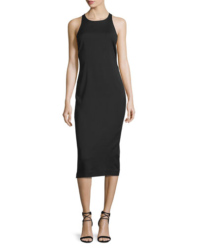 Reef Racerback Midi Dress, Black