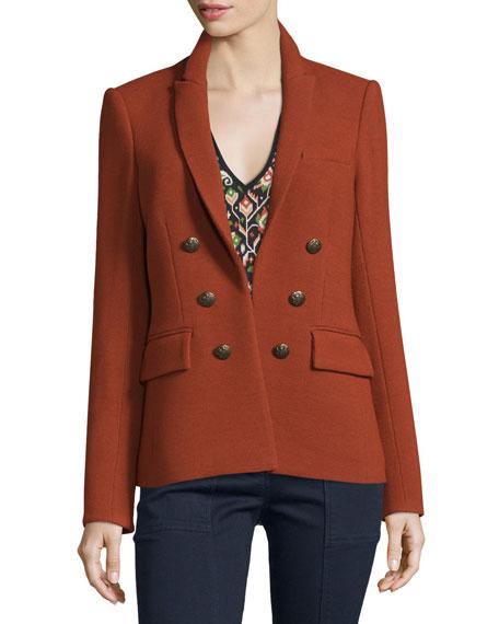 Peninsula Pique Jacket, Brick