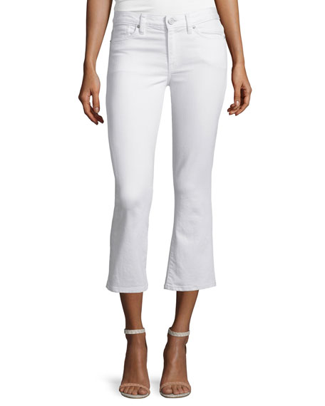 Joie Stretch-Cotton Cropped Flare Pants