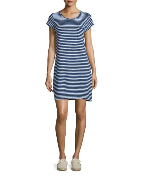 Joie Courtina Striped T-Shirt Dress