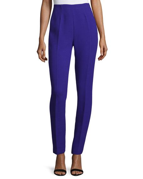 CoSTUME NATIONAL High-Waist Skinny Trousers, Purple