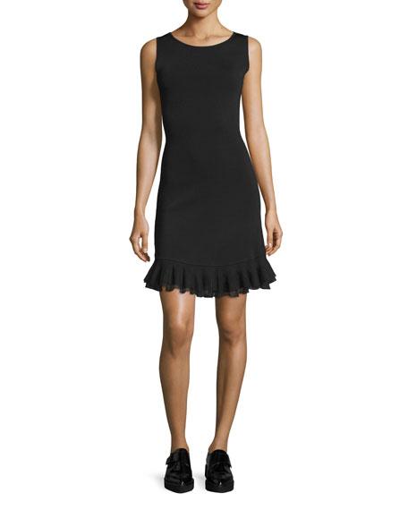 Torylevina Lustrate Ruffle-Hem Dress
