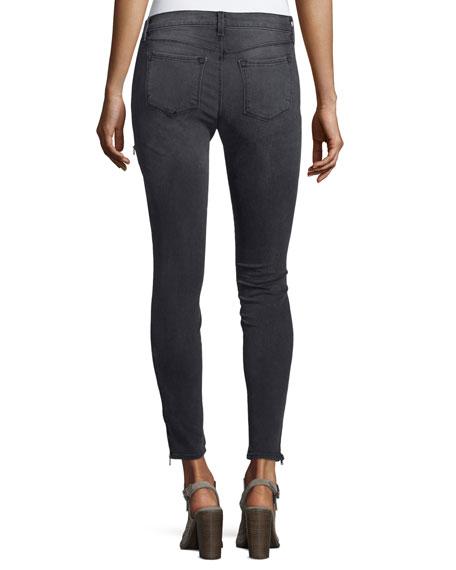 J Brand Kassidy Skinny Ankle Jeans, Gray