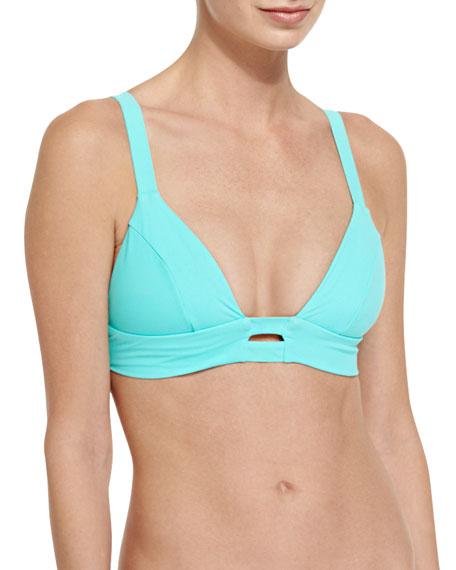 Vitamin A Neutra Solid Strappy-Back Swim Top