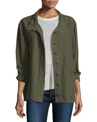 The Slouchy Army Jacket