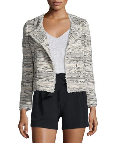 Nicols Multicolored Tweed Jacket