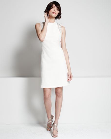 Sleeveless Embellished Cocktail Dress