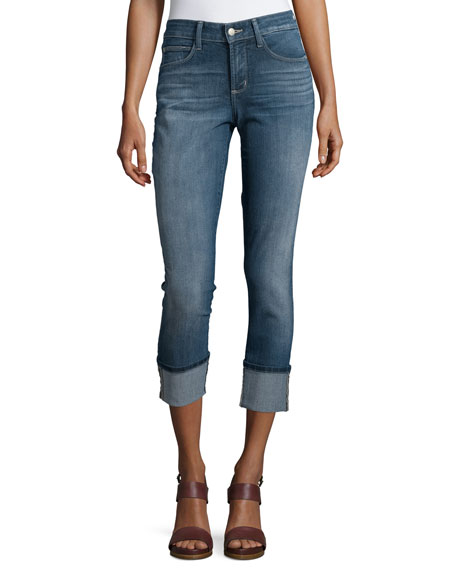 NYDJ Lorena Skinny Boyfriend Cuffed Jeans, Inwood