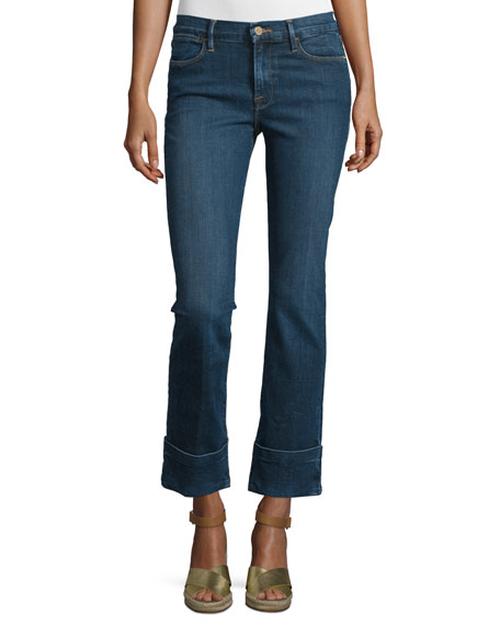 FRAME Le High Cuffed Ankle Jeans, Ardmore