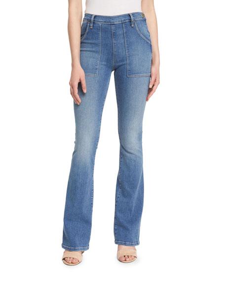 FRAME DENIM Le Flare De Francoise Jeans, Greenfield