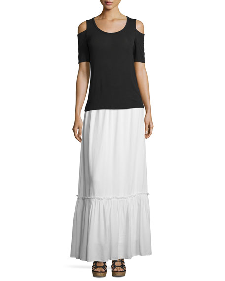 Crosshatch Prairie Maxi Skirt