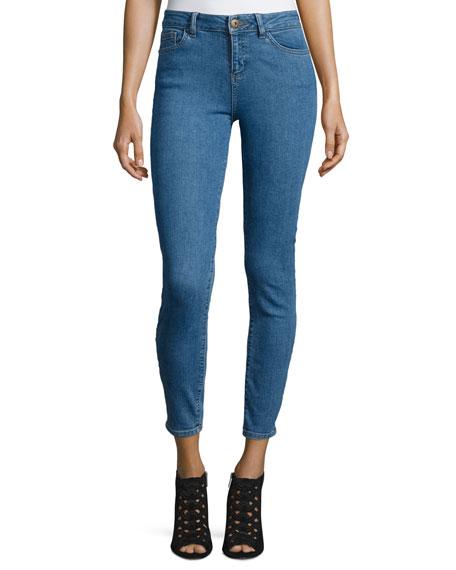 DL1961 Premium Denim Farrow Skinny Cropped Jeans, Ringwald
