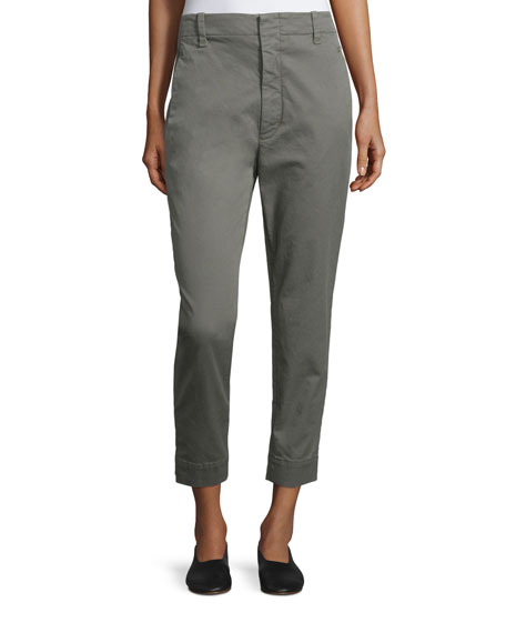 Vince Carrot Flat-Front Chino Trousers