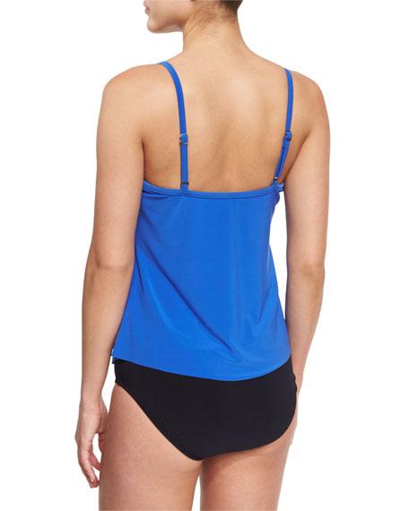 Rita Ruffled Tankini Swim Top, Available in DD Cup