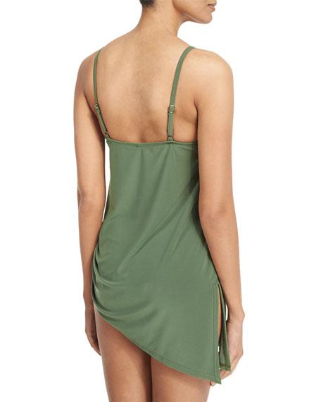 Brynn Asymmetric Swim Dress