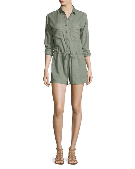 Bryant Long-Sleeve Romper