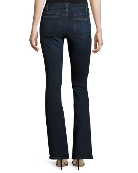 Boot-Cut Denim Jeans, Midnight