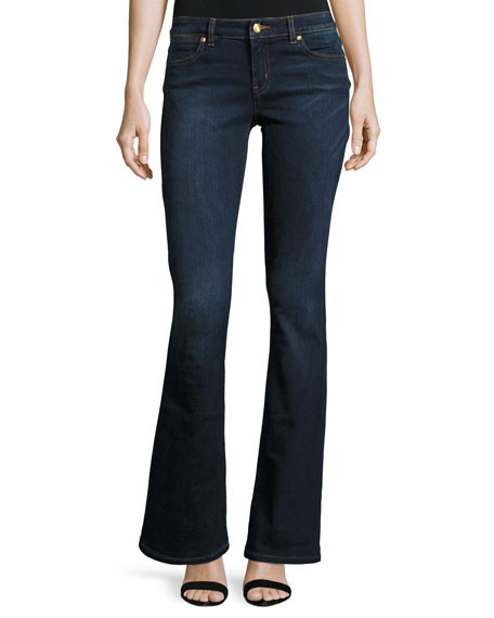 MICHAEL Michael Kors Boot-Cut Denim Jeans, Midnight