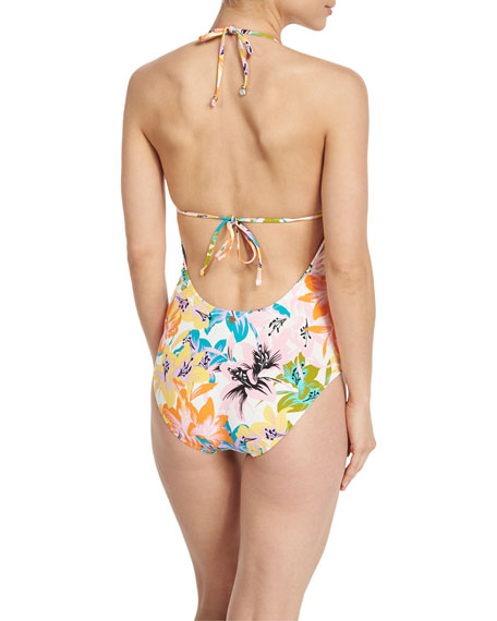 Copa Cubana Goddess Printed One-Piece Swimsuit
