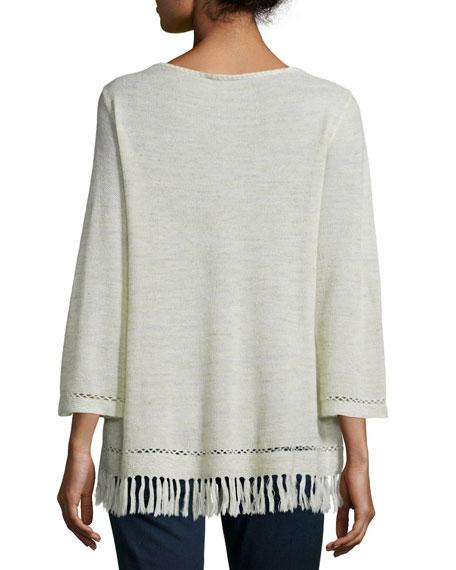 Annalie Fringe-Trim Sweater Best Reviews