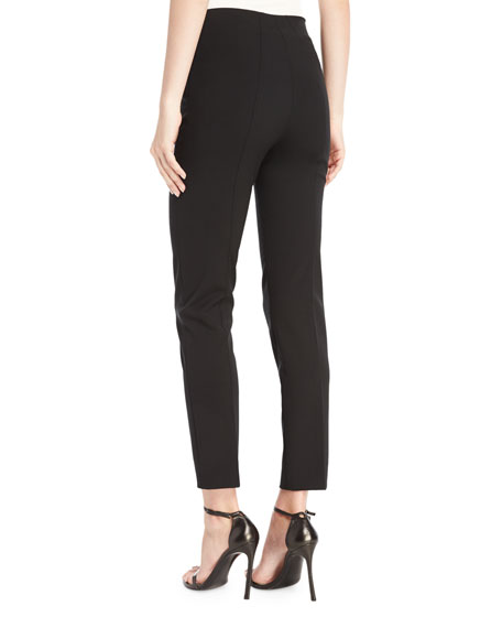 Skinny Ankle Pants, Black