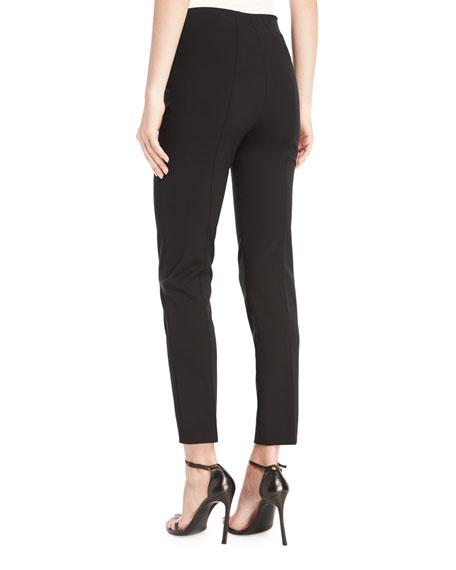 Skinny Ankle Pants, Black