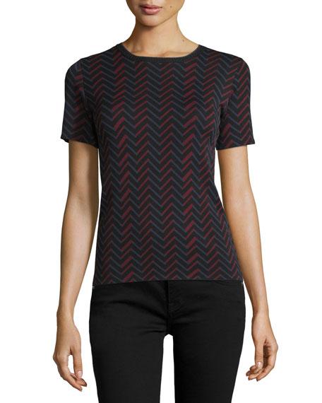 Dodge Chevron-Print Short-Sleeve T-Shirt