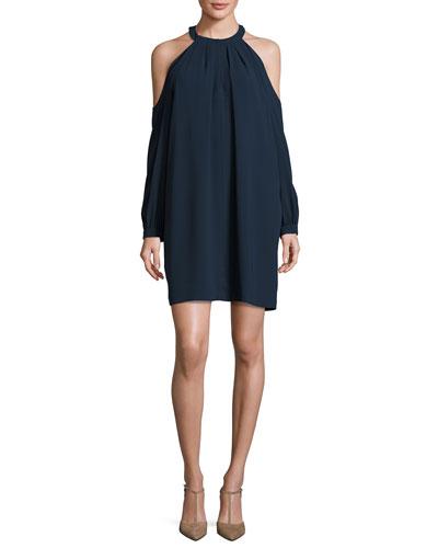 Josephine Cold-Shoulder Shift Dress