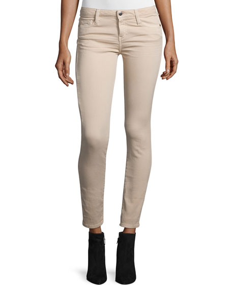 Iro Jarodcla Stretch Denim Ankle Jeans, Nude