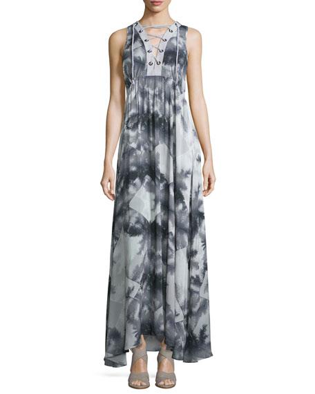 Suboo Shady Palms Printed Maxi Dress