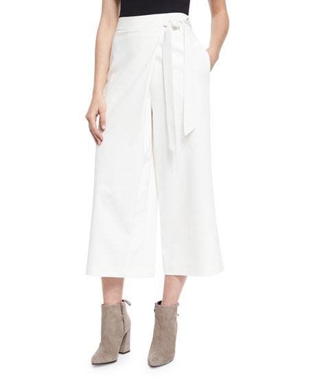 Tibi Agathe Off-the-Shoulder Stretch Poplin Top & Stretch