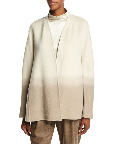 Lafayette 148 New York Kaye Oversized Collarless Ombre