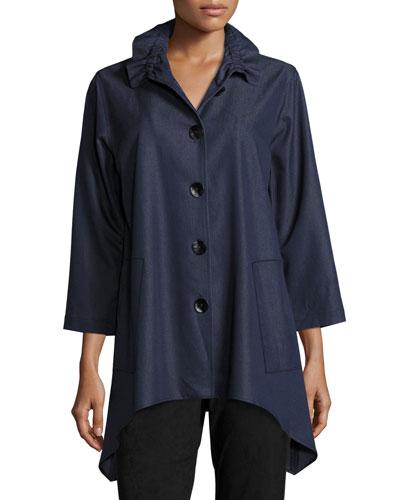 Essential Denim Shirt, Plus Size
