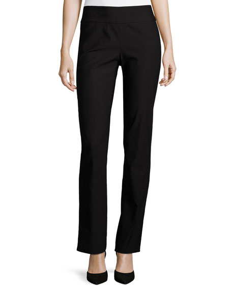 Wonderstretch Straight-Leg Pants, Plus Size