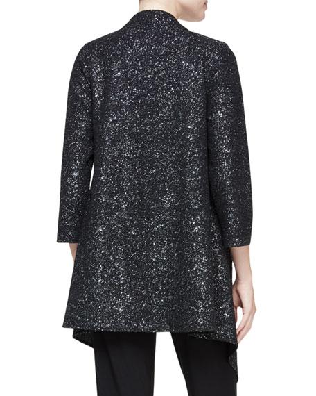 Starry Night Knit Cascade Jacket, Plus Size