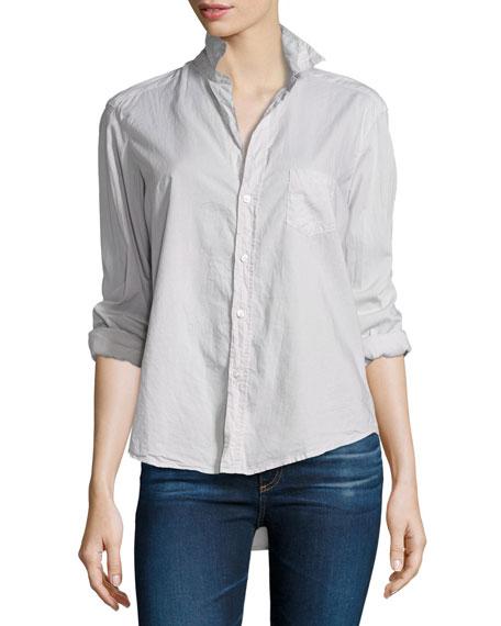 Frank & Eileen Eileen Button-Front Shirt, Stone