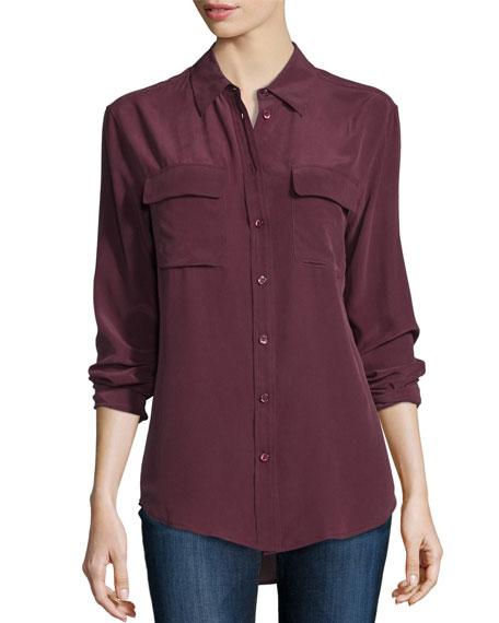 Slim Signature Long-Sleeve Shirt