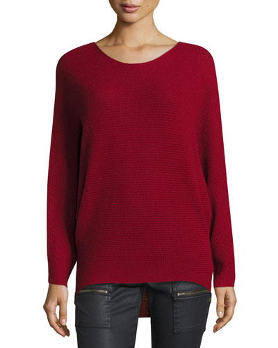 Anissa Ribbed Cashmere Sweater