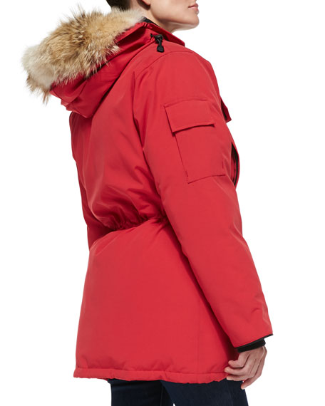 Canada Goose victoria parka outlet shop - Canada Goose Expedition Fur-Hood Parka, Red