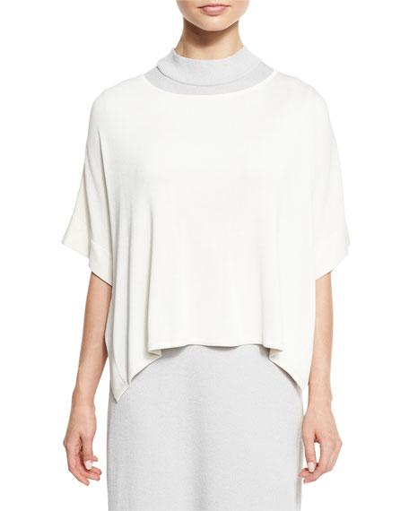Misook Collection Short-Sleeve Silky Tunic & Sleeveless