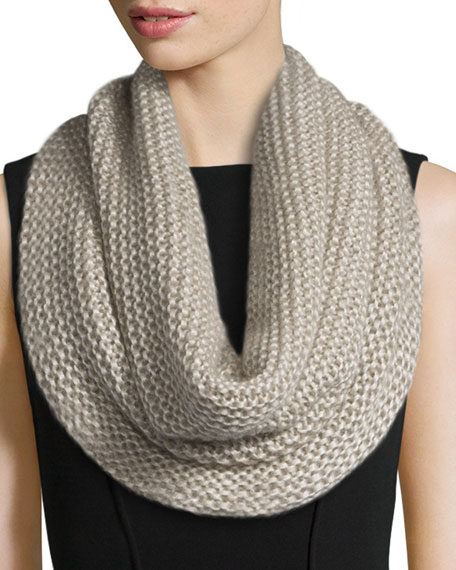 Eileen FisherFisher Project Silk Cashmere-Blend Infinity Scarf